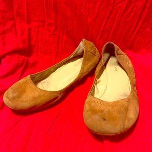 Suede Nubuck leather ballerina flats Cole haan 36